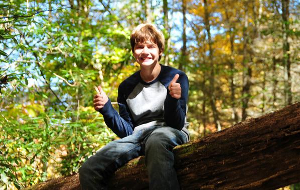 Joyce Kilmer camping Fall 2010